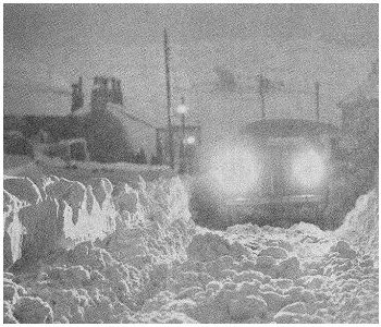 Snow Storms in 1963