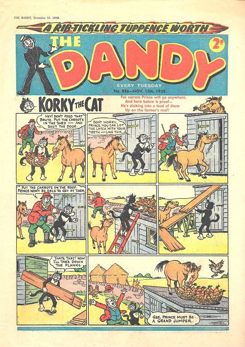 The Dandy Comic